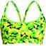 Funkita Sports Top - Bikini Femme - jaune/vert
